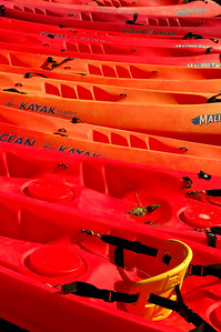 Olympic Naational Park Kayaks for rent on Crescent Lake