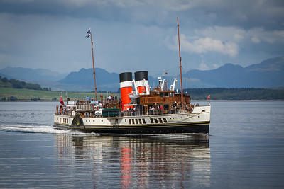PS 'Waverley' at Greenock