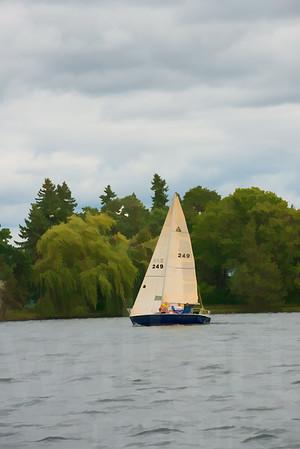 Minnesota Sailboats 090 | Wall Art Resource