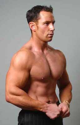 Anthony Aureilus, UK: Author & natural bodybuilding sensation.