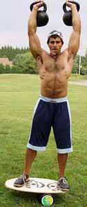 Mike Mahler: Personal trainer and kettlebell instructor.