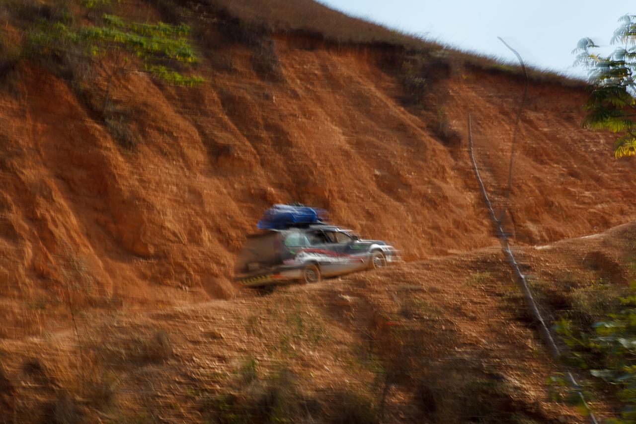 La Bala on Route to Madidi, Bolivia