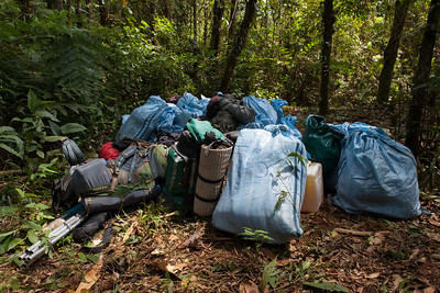 Base Camp Gear - Tintaya Plot Expedition, Madidi, Bolivia