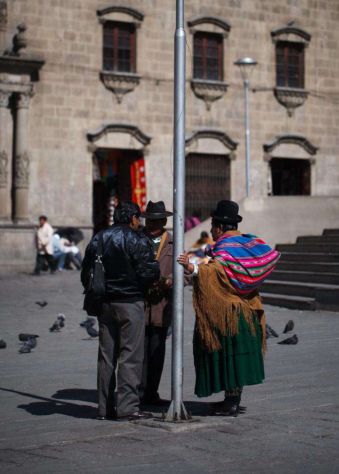 Plaza de San Francisco, La Paz, Bolivia