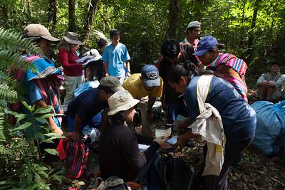 Arrival to Base Camp, Tintaya Plot Expedition, Madidi, Bolivia