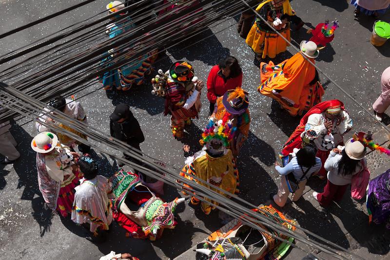 Parade, La Paz, Bolivia