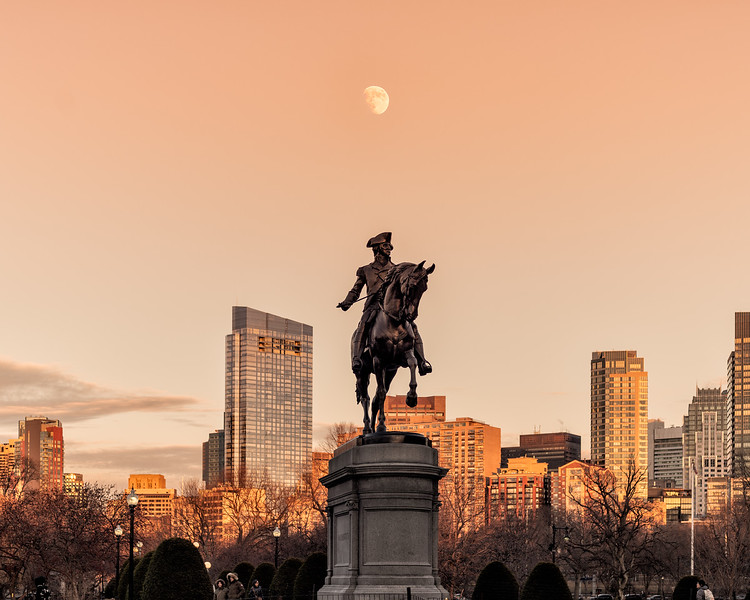 George Washington Moonrise