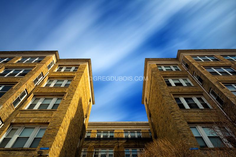 Boston Historic District of Aberdeen, Comm Ave in Brighton Neighborhood of Boston Massachusetts