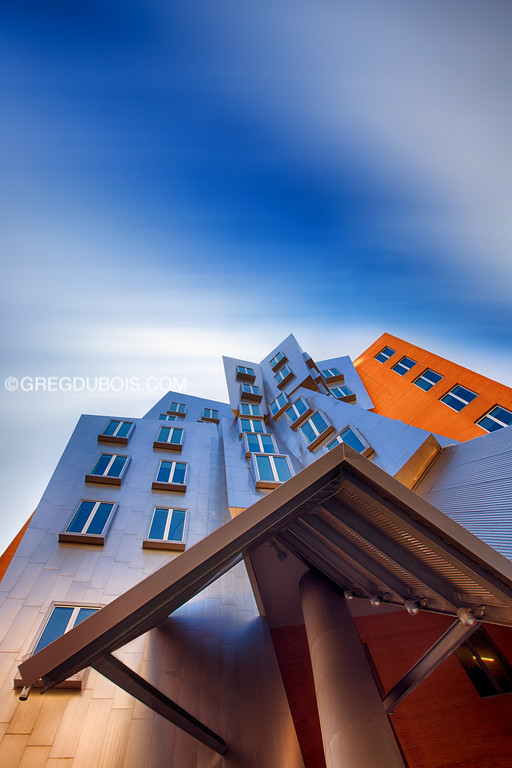 MIT Stata Center by Frank Gehry in Cambridge Massachusetts