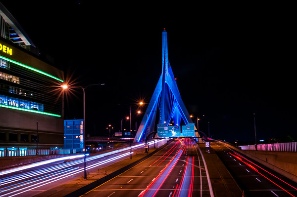 The Zakim at Night