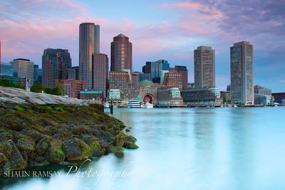 Boston Harbor Sunrise