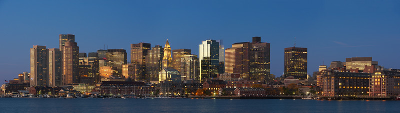 Boston at Dawn
