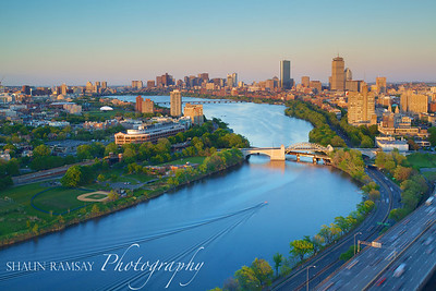 Cambridge, Boston, and the Charles River