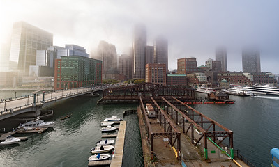 Fog in Boston