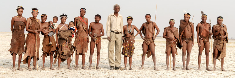 San people of botswana something