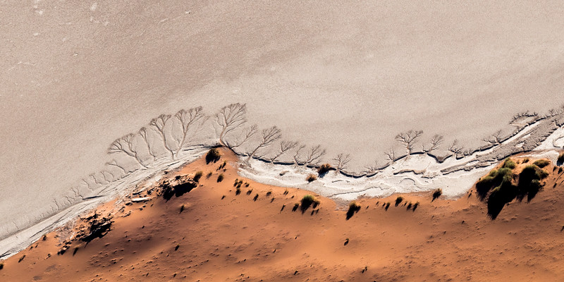 Deadvlei, Namibia from the air