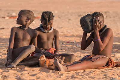 Ovahimba children