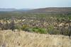 Atop Mokolodi Hill viewing southeast across the Mokolodi Nature Reserve - Botswana, Africa