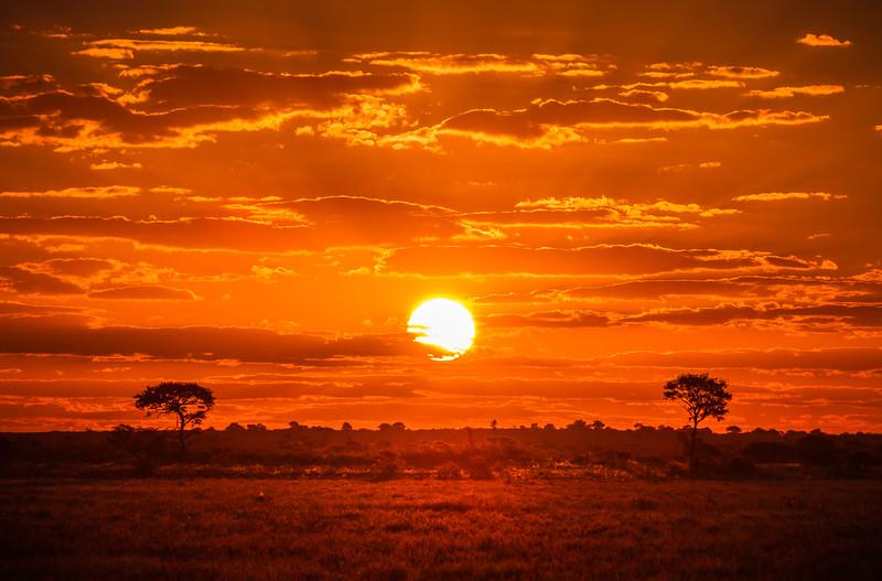 Sundown Botswana