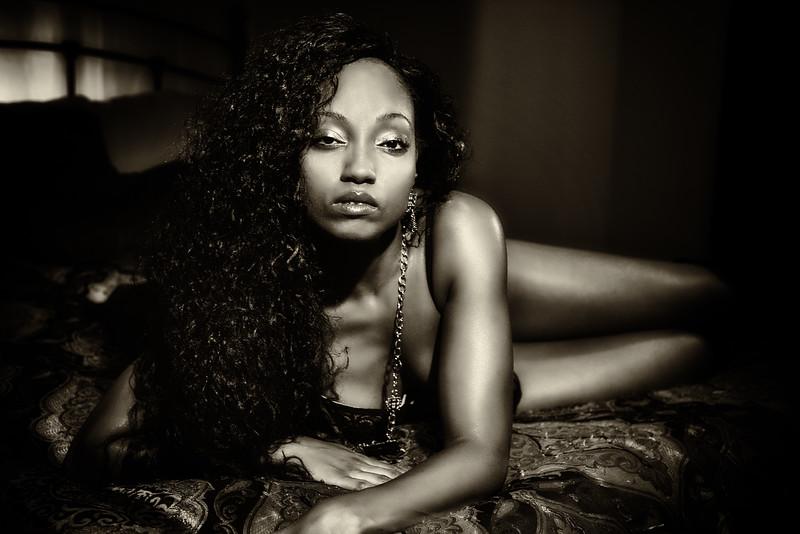 Boudoir Noir - Ashley<br /> Agency - Maevee Modelz