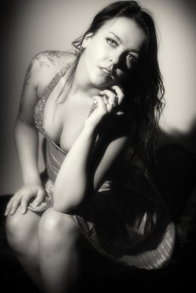 Krissie - Boudoir Noir<br /> <br /> <br /> <br /> #photographer #studio #charlottephotographer #glamour #noir #blackandwhite #boudoirnoir #filmnoir
