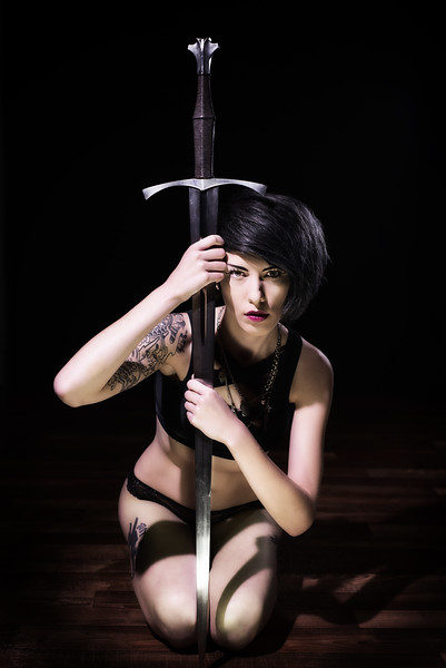 Madi - Sword Maiden  <br /> Agency:  Maevee Modelz
