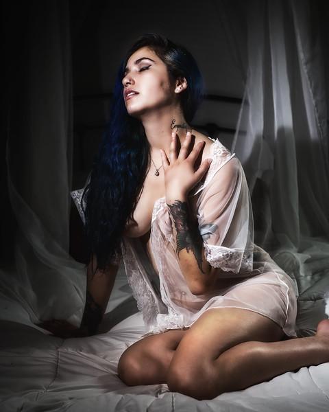 Boudoir Noir - Melissa<br /> Agency:  Maevee Modelz