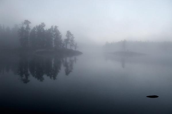 Morning Mist on Iron Lake