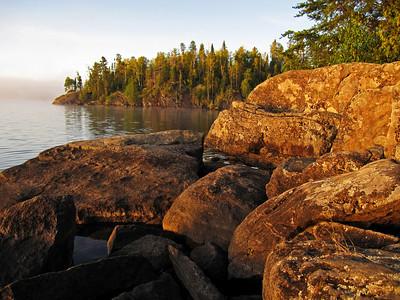 Gillis Lake Sunrise