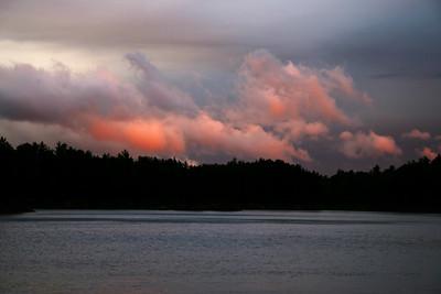 Crooked Lake Sunset