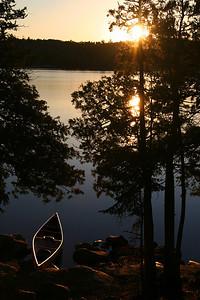Lake Agnes Sunset