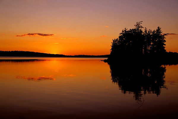 Bald Eagle Lake Sunset
