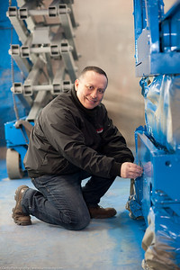 Raphael takes pride in his work as a heavy equipment specialist at www.NewFinishes.com