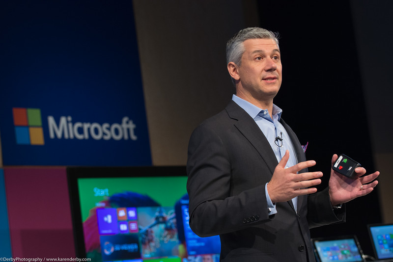 Jordan Chrysafidis speaks to Chief Information Officers at Microsoft.
