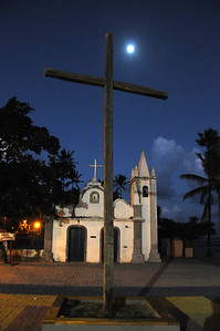 Chapel in Praia do Forte near the TAMAR marine turtle sanctuary