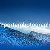 Cold morning blues. Taken pre dawn in the blue hour, Pen y Fan, Brecon Beacons National Park.