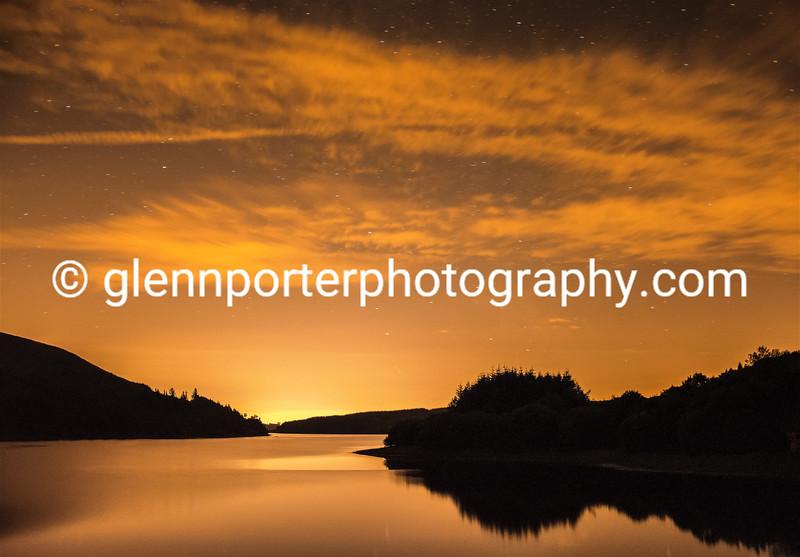 Evening at Pontsicill Reservoir - Brecon Beacons National Park.