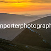 A Mother's Day sunrise off Pen Y Fan, Brecon Beacons National Park.