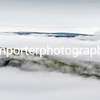 Cloud inversion with the summit of Cribyn, Brecon Beacons National Park.
