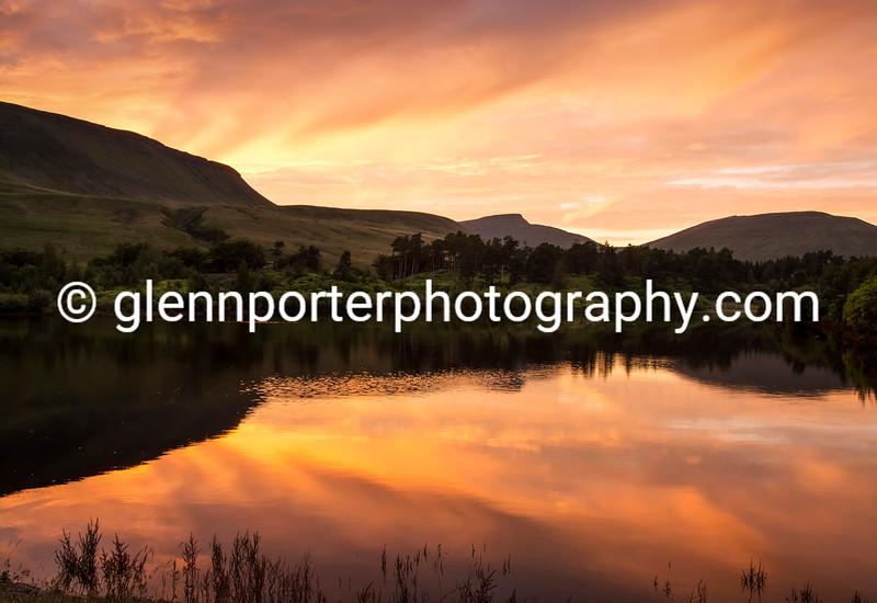 Cribyn from Neuadd Reservoir - Brecon Beacons National park.