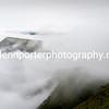 Cloud inversion, taken from Pen y Fan, Brecon Beacons National Park.