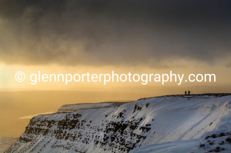Morning ridge walk.