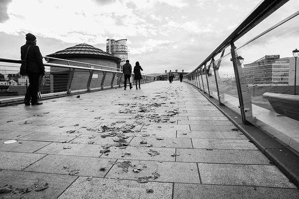 Bridge Strolling Lagan Weir