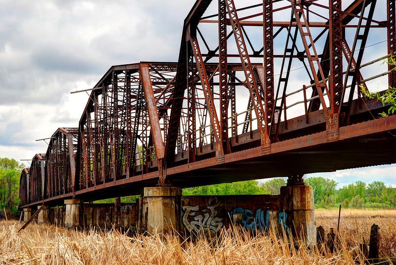 The old Cedar Avenue Bridge