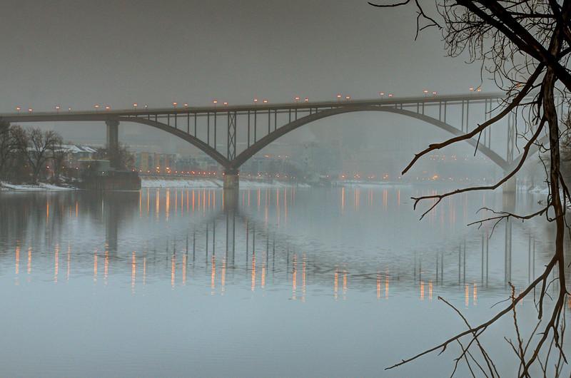 Fog under the High Bridge