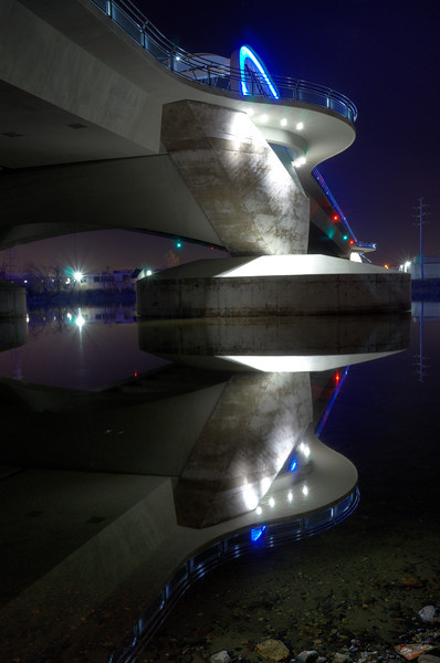 Under the Lowry Avenue Bridge