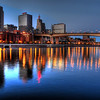 The Mississippi River at Downtown St. Paul