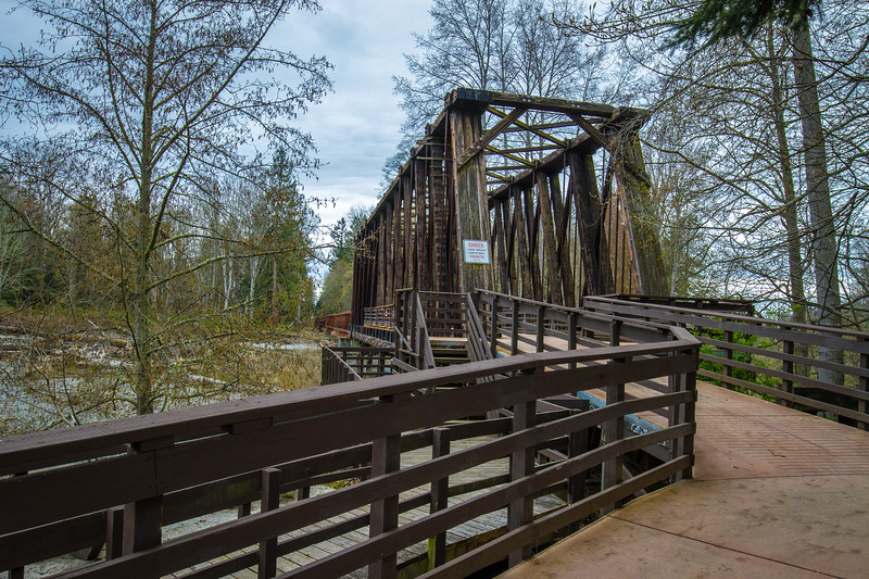Railroad Bridge Park - Sequim, WA