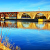 Stone Arch Bridge on the Mississippi in Minneapolis