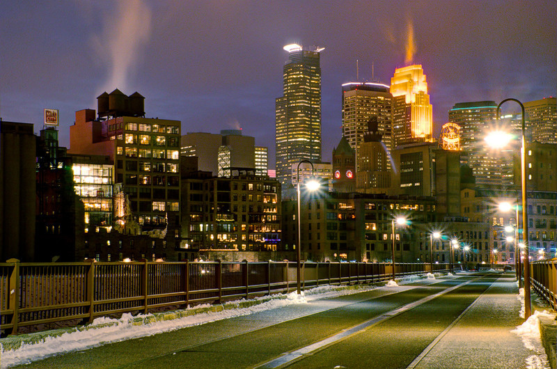 View from the Stone Arch Bridge
